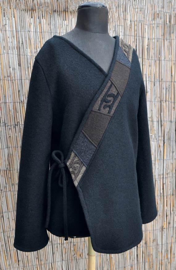 KHFB Gabi Stellmach Textilkunst Jacke -2