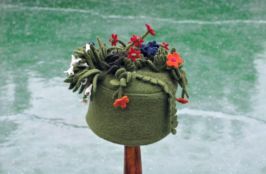 KHFB Gabriele Stellmach Textilkunst Mütze -2