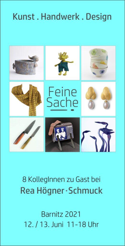 Ausstellung Feine Sache - Juni 2021 in Barnitz