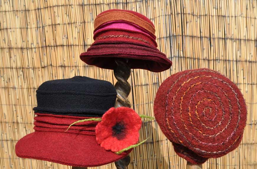 Hüte von Gabi Stellmach