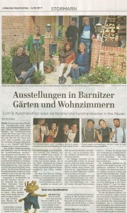 KHFB 2017 Pressebericht Lübecker Nachrichten