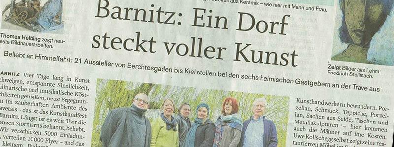 KHFB Stormarner Tageblatt Presseartikel -titel