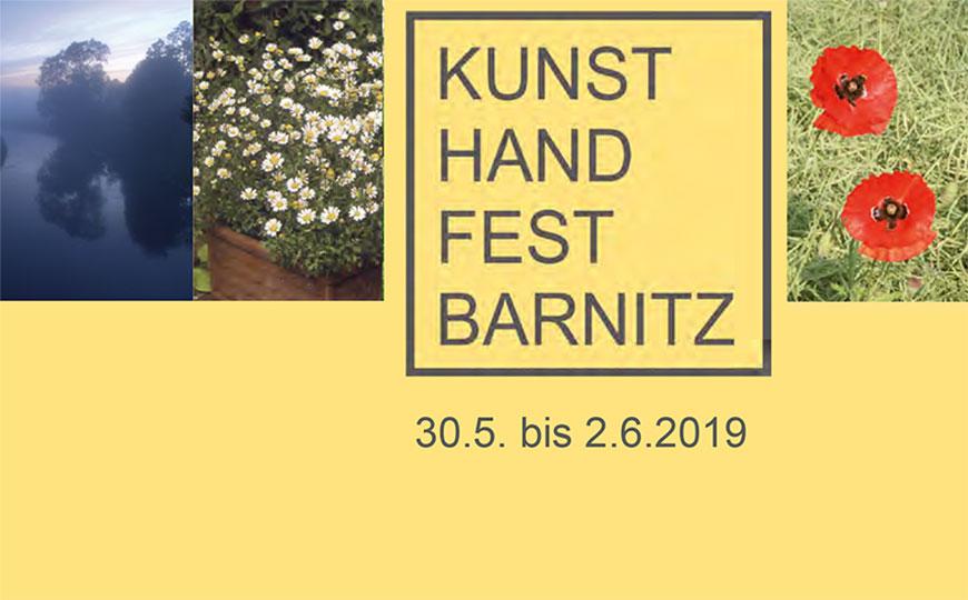 KunstHandFest Barnitz 2019 Programm
