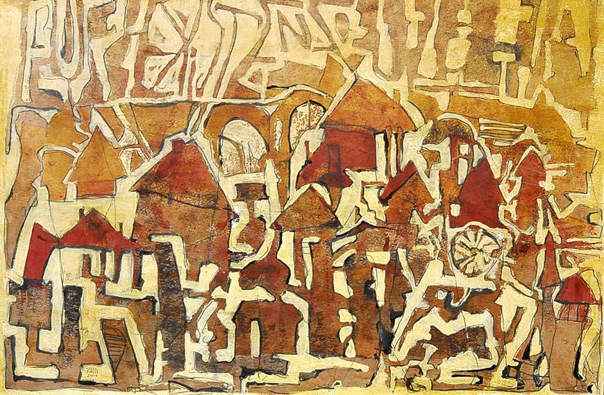 KHFB Lokfeld 41 Friedrich Stellmach Malerei